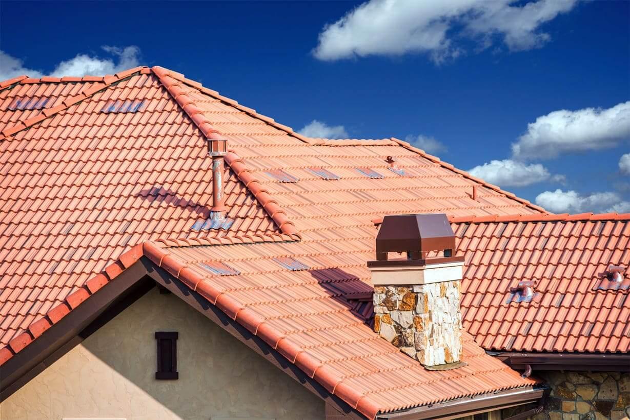 Traitement hydrofuge d'une toiture