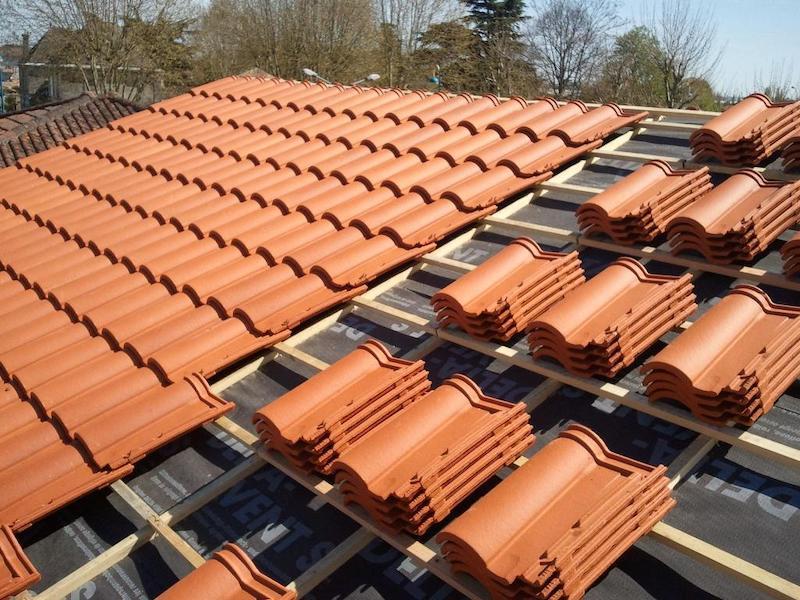 rénovation partiel de toiture